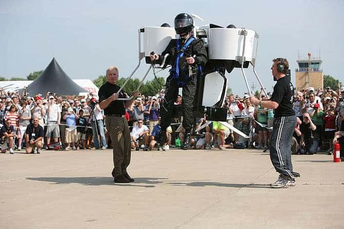 Jetpack Test Flight
