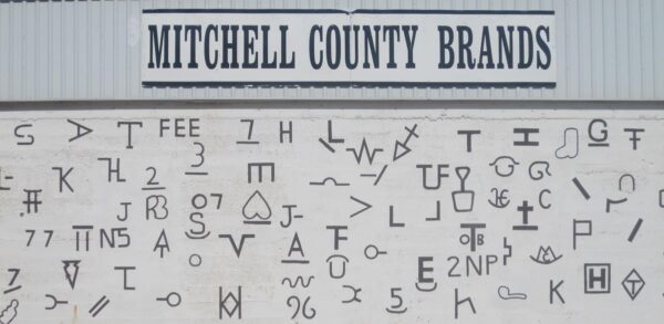Mitchell County Cattle Brands