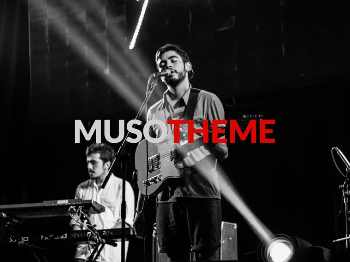 Muso WordPress Theme for Bands & Musicians