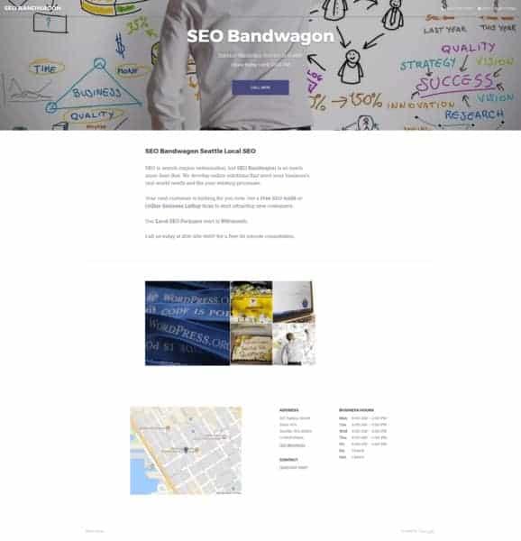 Google My Business Free Website