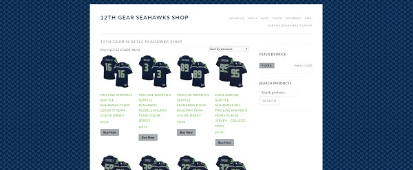 12th Gear Seattle Seahawks Shop